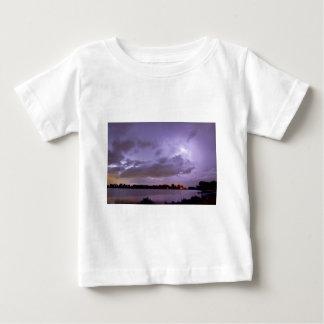 Cloud to Cloud Lake Lightning Strike Baby T-Shirt