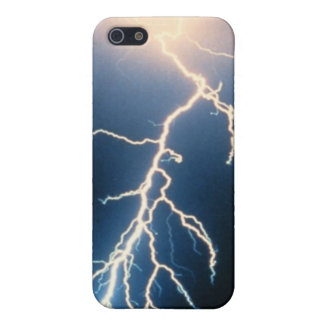 Cloud to Ground Lightning iPhone 5 Cover
