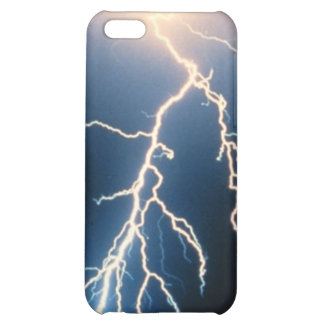 Cloud to Ground Lightning iPhone 5C Cover
