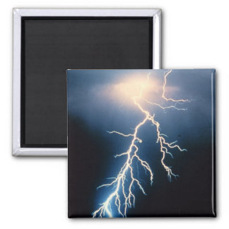 Cloud to Ground Lightning Refrigerator Magnets