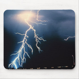Cloud to Ground Lightning Mouse Pad