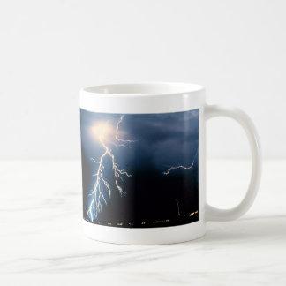 Cloud to Ground Lightning Coffee Mugs