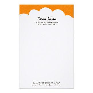 Cloud Top - Orange Stationery