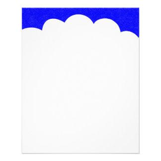 Cloud Tops - Blue II Flyer