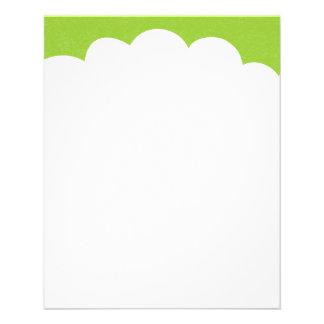 Cloud Tops - Martian Green Flyer