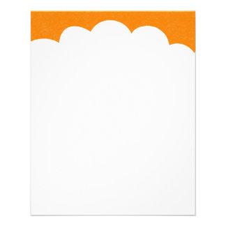Cloud Tops - Orange Flyer