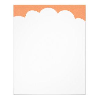 Cloud Tops - Peach Flyer