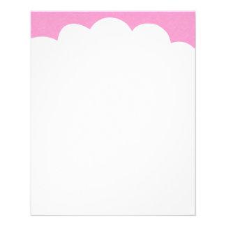 Cloud Tops - Pink Flyer