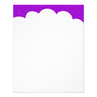 Cloud Tops - Purple Flyer