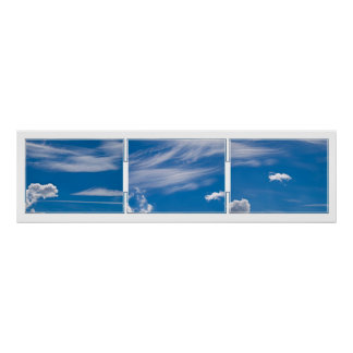 Cloud Tryptich Print