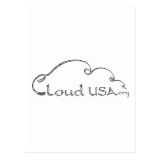 Cloud USAZazzleNoBGRND Postcard