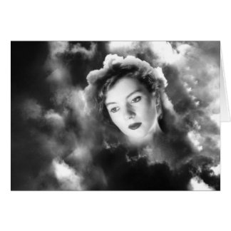 Cloud Vision - Blank Greetings Card