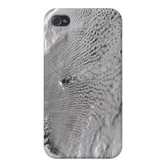 Cloud vortices off Jan Mayen Island Case For iPhone 4