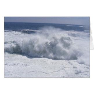 Cloud Wave Card
