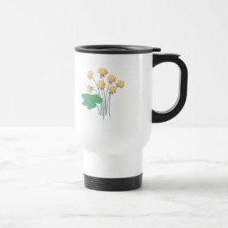 cloudberries 15 oz stainless steel travel mug