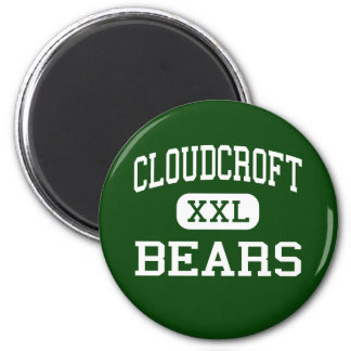 Cloudcroft - Bears - High - Cloudcroft New Mexico 2 Inch Round Magnet