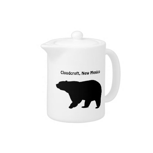 Cloudcroft new mexico bear teapot