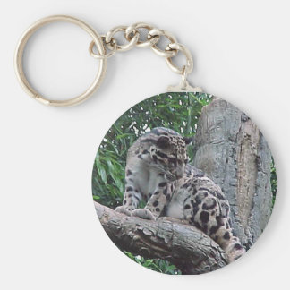 Clouded Leopard Keychain