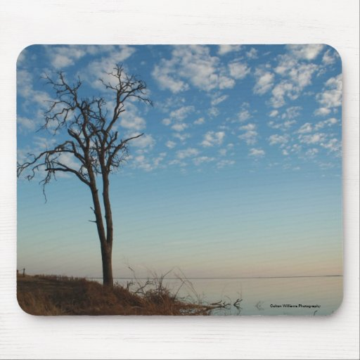 Clouded Sky Mouse Pads