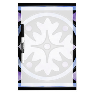 Clouded Stained Glass Dry Erase Whiteboards