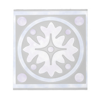 Clouded Stained Glass Notepad