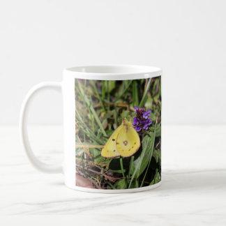 Clouded Sulphur Coffee Mug