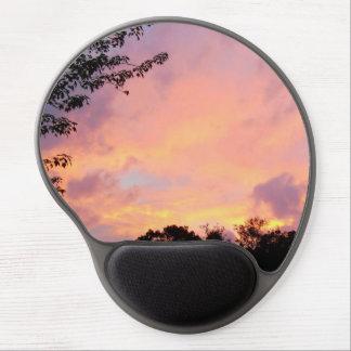 Clouded Summer Sunset Gel Mousepad *Customize It*