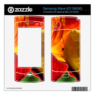 Cloudless Sulphur Phoebis Sennae Decal For Samsung Wave