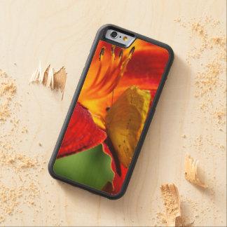 Cloudless Sulphur Phoebis Sennae Carved® Maple iPhone 6 Bumper Case