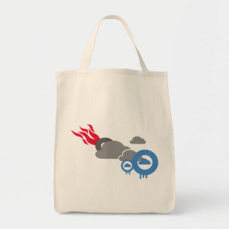 Cloudly Tote Bags