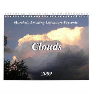 Clouds 2009 calendar