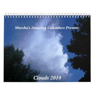 Clouds 2014 calendar