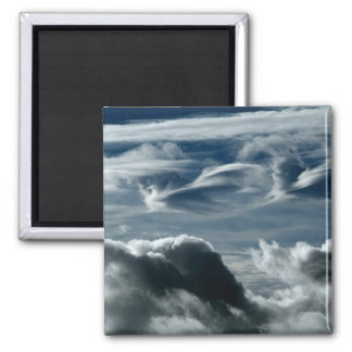 Clouds 2 Inch Square Magnet