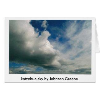 CLOUDS (2), kotzebue sky by Johnson Greene Card