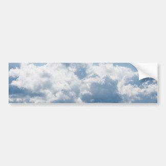 clouds-388922 BEAUTIFUL SKY NATURE BLUE WHITE CLOU Bumper Sticker