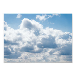 clouds-388922 BEAUTIFUL SKY NATURE BLUE WHITE CLOU Card