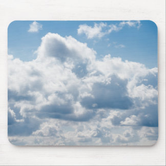 clouds-388922 BEAUTIFUL SKY NATURE BLUE WHITE CLOU Mouse Pad