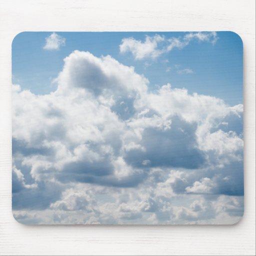 clouds-388922 BEAUTIFUL SKY NATURE BLUE WHITE CLOU Mouse Pad