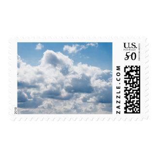 clouds-388922 BEAUTIFUL SKY NATURE BLUE WHITE CLOU Postage