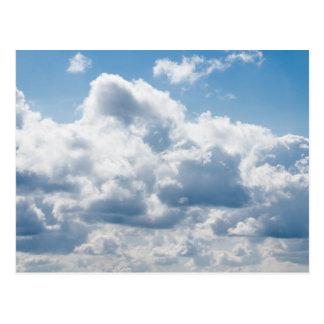 clouds-388922 BEAUTIFUL SKY NATURE BLUE WHITE CLOU Postcard