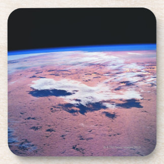 Clouds Above Earth Drink Coaster