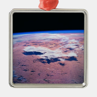 Clouds Above Earth Christmas Tree Ornament