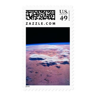 Clouds Above Earth Postage Stamp