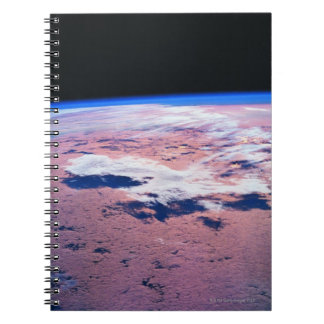 Clouds Above Earth Spiral Notebook