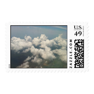 Clouds above Hong Kong Postage Stamp
