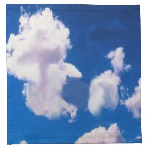 Clouds American MoJo Napkin