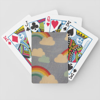 clouds and arc IRIS Bicycle Playing Cards