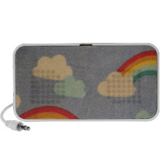 clouds and arc IRIS Notebook Speaker