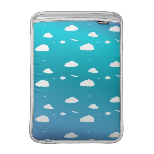 Clouds and Birds Sleeves For MacBook Air
