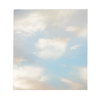 Clouds and Blue Sky Notepad